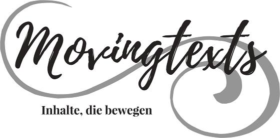 Marina Bierbrauer, freie Texterin, movingtexts, Logo, Dresden, Deutschland